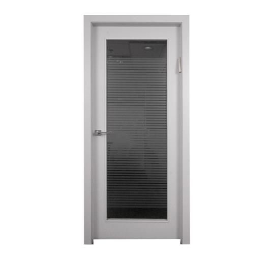 דלת פנים דגם חלון מלא
